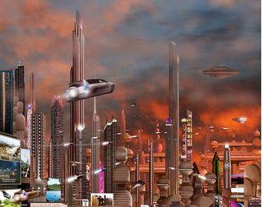 Elektrisch vervoer science fiction