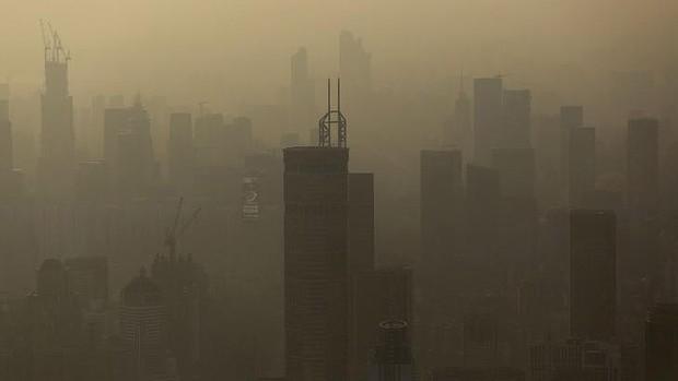 smog in Shenzhen