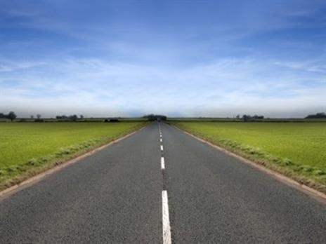 Een afgebakende weg
