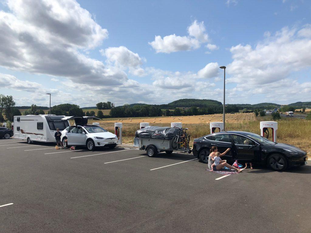 vakantie elektrische auto