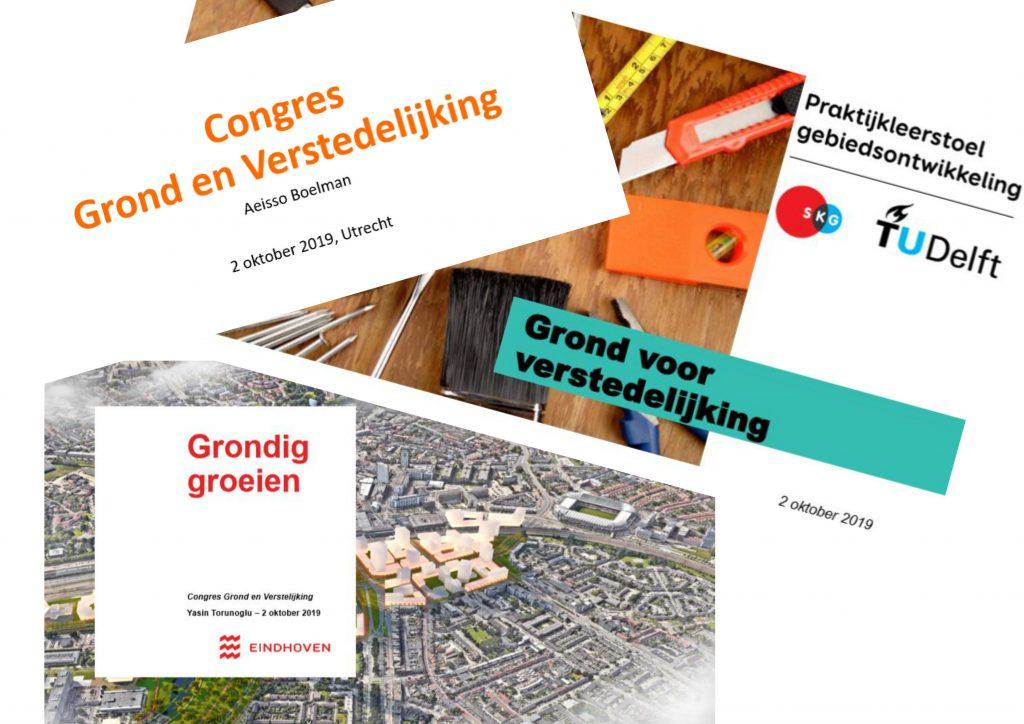 congres grond en verstedelijking