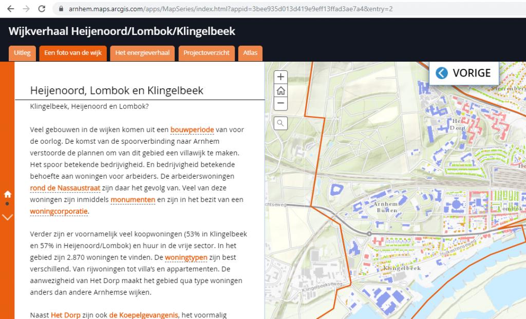 Storymap Arnhem