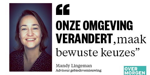 Mandy Lingeman Over Morgen