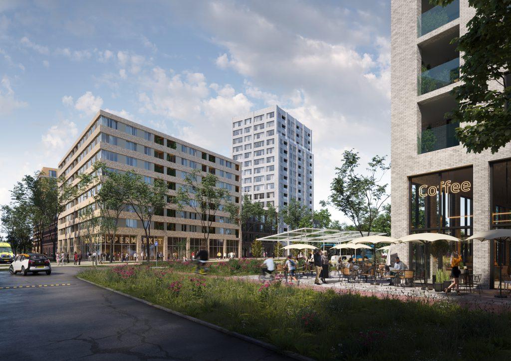 Middenzone gezondheidspark Dordrecht