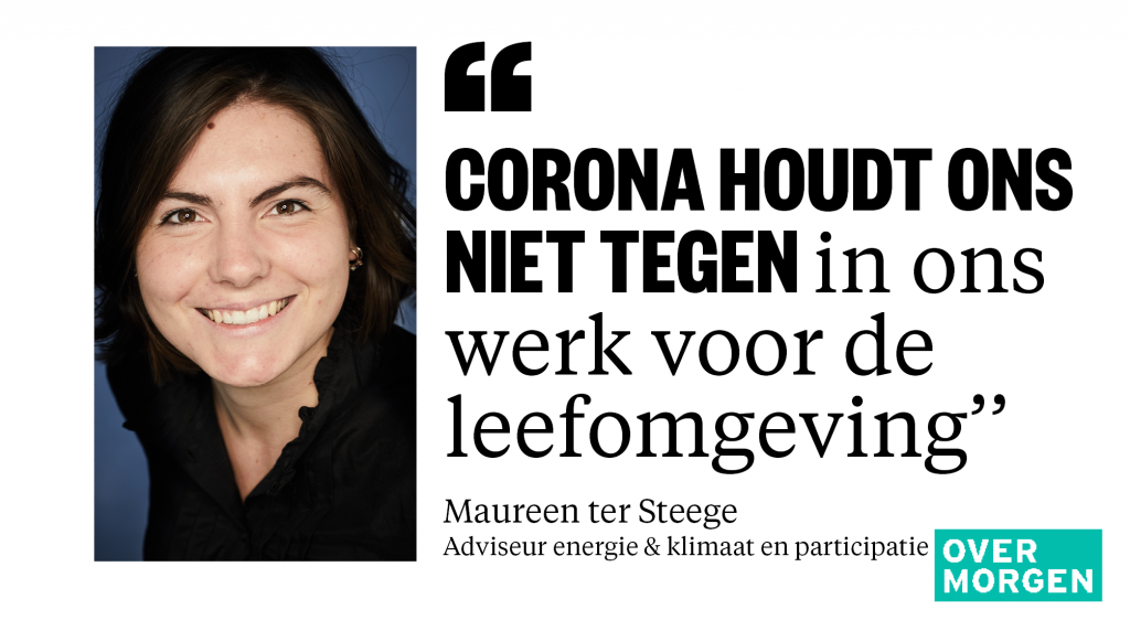 Maureen ter Steege Over Morgen