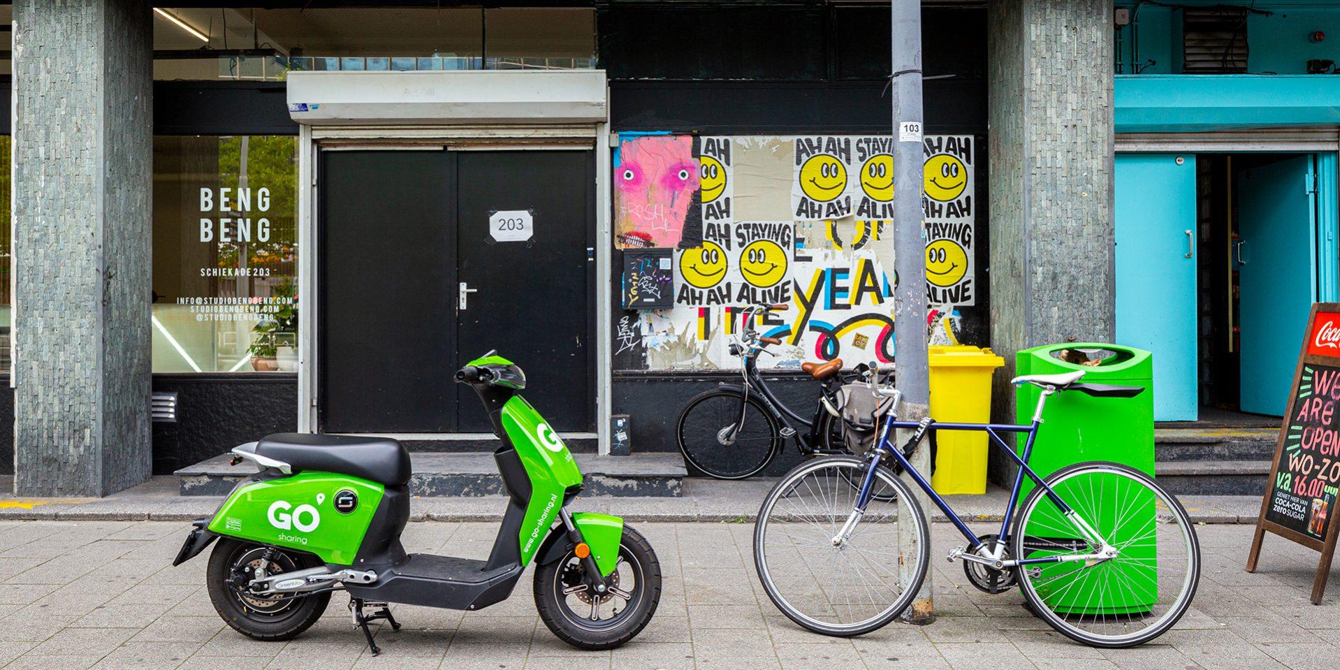 deelmobiliteit gemeente beleidskeuze