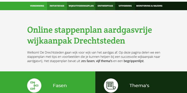 Stappenplan wijkaanpak Drechtsteden
