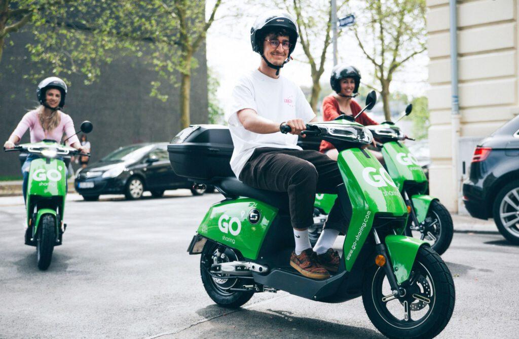 deelscooter deelauto